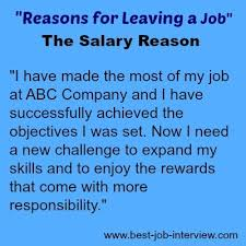 Good Reasons To Leave A Job Good Reason For Leaving A Job On Resume Nmdnconferencereason For