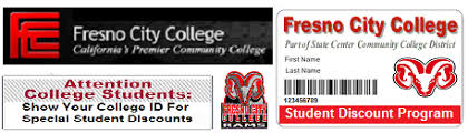 Student College Discount Fresno City Program