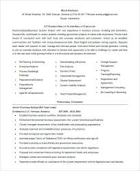 Business Resumes It System Analyst Resume Sample Entry Level Business Analyst Resume 56