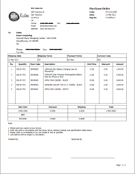 samples of purchase order form purchase order template po template sample purchase order