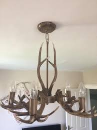 next antler light fitting chandelier