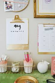 diy office projects. Office Gold Organization- The 36th AVENUE | Home Decor DIY Projects Diy 7
