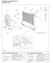 cooling fan motor and shroud accessory drive belt thermostat this image has been resized click this bar to view the full image