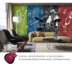 Rock N Roll Bedroom 3d Rock N Roll Music It S My Time Any Size Custom Wallpaper Mural