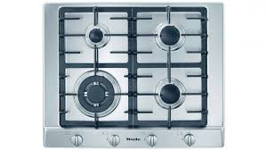 miele 650mm 4 burner natural gas cooktop stainless steel harvey norman au