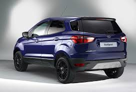 2016 Ford EcoSport Loses Exterior Spare Wheel, Gets Equipment and ...