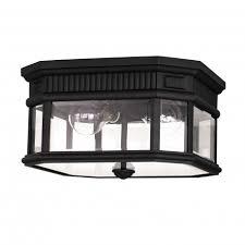 cotswold lane outdoor flush ceiling light fitting black elstead fe cotsln f bk