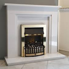 rushmount marble fireplace