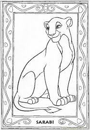 Small Picture Lion Sarabi30 Coloring Page Free The Lion King Coloring Pages