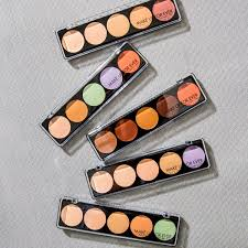 5 camouflage cream palette color correct concealer make up for ever sephora