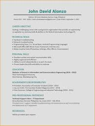 Communication Resume Examples Outstanding Create A Resume New Unique