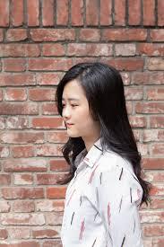 韓国ヘアスタイル 可愛い女の子雰囲気のレイヤカットデジタル