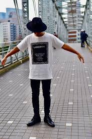 Ribertyロゴ ロング丈tシャツ Teddyco おしゃれな流行りのメンズ