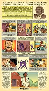 ideas about frederick douglass bookmarks an original aom comic frederick douglass how a slave was made a man