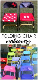 17 best ideas about kids folding chair on small amazing metal folding chair makeovers diy spray paint and fabrics