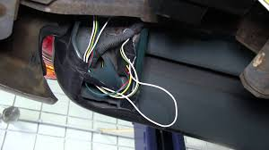installation of a trailer wiring harness on a 2001 toyota tacoma etrailer com you