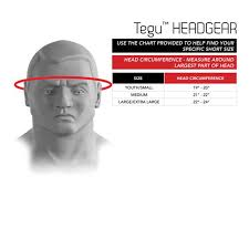 Size Chart Sparring Headgear Tegu Century Martial Arts