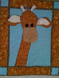 28 best giraffe images on Pinterest | Baby quilts, For kids and ... & Quilting in Amsterdam: Free pattern: Giraffe baby quilt with bells in horns  and rustling Adamdwight.com