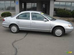 1999 Silver Frost Metallic Ford Contour LX #27771196 Photo #3 ...
