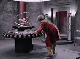 Risultati immagini per sixth doctor tardis