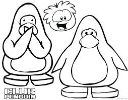 Penguin Color Pages Cute Baby Penguin Coloring Pages Printable For