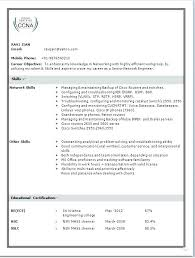 Sample Ccna Resume Resume 1 Ccna Resume Sample Download Resume