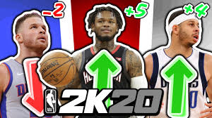 4th Roster Update Of NBA 2K20 - YouTube