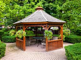Gazebo Ideas Stunning Decorating Backyards Ideas With Small - Outdoor kitchen designs with pool