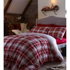 ean 5055184979678 image for catherine lansfield tartan single duvet set red upcitemdb