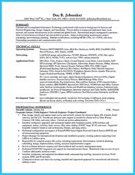 Mcse Resume Perfect Resume