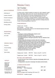 Art Teacher Resume Cv Example Template Teaching Graphics Entry