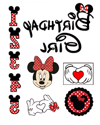 Minnie Mouse Party Hat Vector