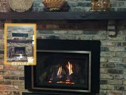 gas fireplace conversion easily converted natural gas fireplace conversion kit