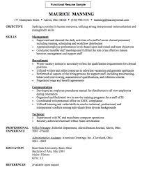 Custom Functional Resume Sample Httpresumesdesignfunctional