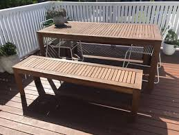 rustic wooden outdoor furniture. Rustic Wooden Chest Bench | Outdoor Dining Furniture Gumtree Australia Gold Coast City - Southport 1181678844 M