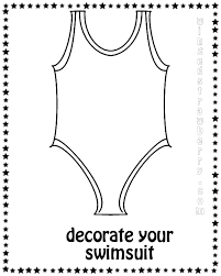 Small Picture swimming suit coloring pages 01 Preschool Activities Pinterest