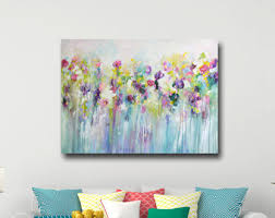 large wall art canvas art abstract floral canvas print giclee print large on oversized print wall art with abstract floral print large giclee print xlg floral canvas
