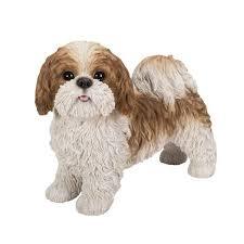 shih tzu statue realistic dog sculpture