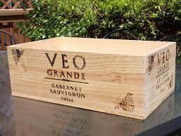 Find a Wood Wine Crate
