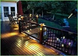 trex deck lighting. Beautiful Trex Deck Lighting Post Solar Ideas A Led Recessed Lights C