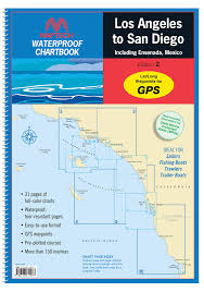 Waterproof Charts 16 Maptech Waterproof Chartbook Los Angeles To San Diego