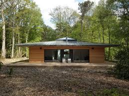 Normandie Une Maison Ossature Bois Carr E En Pleine For T Par