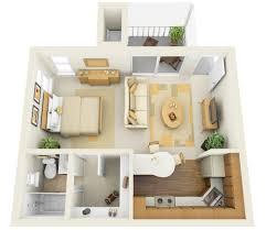 Home Design  Architecture Uncategorized Apartments D Floor - Small apartment floor plans 3d