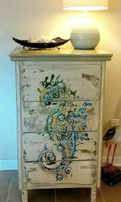coastal inspired furniture. Furniture Makeovers With Paintings: Http://www.completely-coastal .com/2016/01/dresseer-makeover-coastal-beach-nautical.html Coastal Inspired