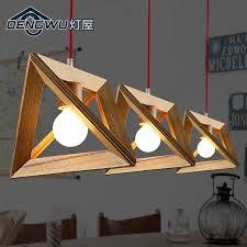 wood light fixture daze modern nordic wooden pendant lamp restaurant bar coffee decorating ideas 2