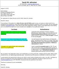 cover letter format cover letter outline examples