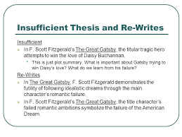 establishing the main idea of your critical analysis essay ppt  8 insufficient