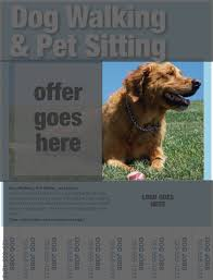 dog walking flyers essential elements you ll need pet dog walking flyer images