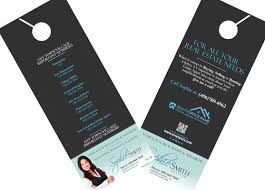 Door Hanger Design Template Beauteous Real Estate Door Hangers RSDDH44 In 44 Real Estate Door