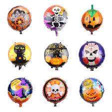 HDBFH The <b>aluminum film</b> Balloon Festival <b>Halloween</b> decoration ...